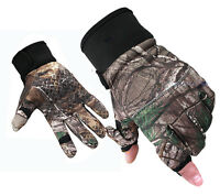 Outdoor Camouflage Hunting Gloves Anti-slip Full Finger Gloves Autumn Winter