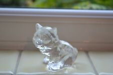 VINTAGE 24% BLEIKRISTALL WEST GERMAN GLASS ANIMAL ORNAMENT