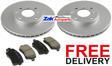 Suzuki Swift 1.3 GL 1.5 GLX 2005-2011 Front 2 Brake Discs and Brake Pads Set NEW