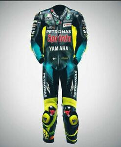 Fabio Quartararo Motorbike Rider's Leather Racing Customized Suit