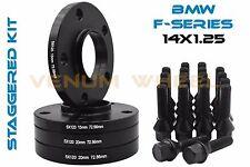 15mm &20mm BMW Wheel Spacers Black HubCentric F Series F30 F32 F33 F80 F10 M3 M4