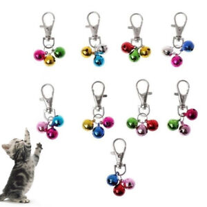 Safety Dog  Puppy Collar Bells Buckle Hanging Pendant Decor Pet Accessories