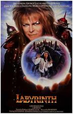 David Bowie Labyrinth Crystal Ball Rare Poster Print