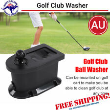 Golf Cart Car Ball Club Washer Cleaner Fit Most Carts Mounting Bracket AU Stock