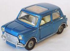 "CORGI TOYS No.334 BMC MINI COOPER S ""MAGNIFIQUE"" blu metallico (1968-70)."