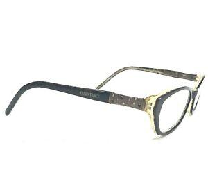 Ellen Tracy London Brown Eyeglasses Sunglasses Frames Cat Eye Brown Spotted 125