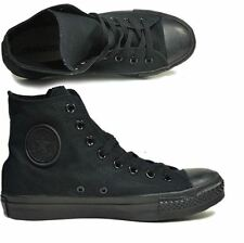 63dd13fd19c Converse Kids All Star Chuck Taylor Hi all black 3S121 Sz11T-2.5Y H SS S