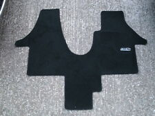 VW T5 Transporter Caravelle 2 Seater Model Floor Mat Black