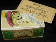 Mint Whimsical World Pocket Dragons Figure Party Hat Dragon Signed