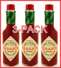 TABASCO® Family Reserve Premium Hot Pepper Sauce | 5 oz | 3-PACK