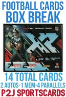 2020 PANINI XR FOOTBALL🏈CARD HOBBY Box BREAK🏈1 RANDOM TEAM🏈NFL🏈Break 3941