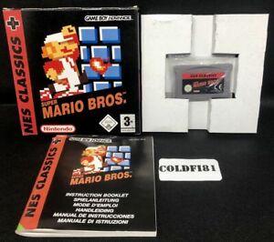 NES Classics: Super Mario Bros. - PAL - Game Boy Advance / GBA