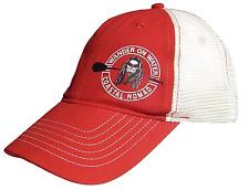Coastal Nomad logo baseball trucker cap Hat stand up paddle beach SUP red kayak