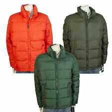 Tommy Hilfiger Mens Classic Puffer Jacket Orange Green...