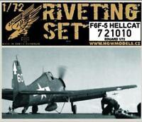 HGW 1/72 Riveting set for F6F-5 Hellcat for Eduard kit #721010