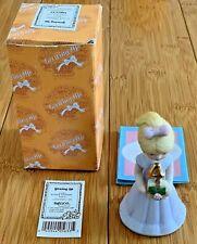 Vintage Enesco Growing Up Birthday Girls Age 4 Blonde Girl Figurine Nib