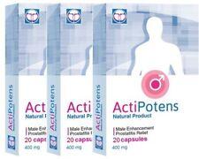 Actipotens, prostatiti e disfunzione erettile TRE CONFEZIONI TOT 60 Cps 400mg