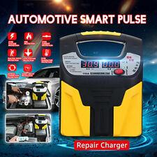 360W 12V/24V Car Battery Charger Intelligent Pulse Repair Jump Starter Booster