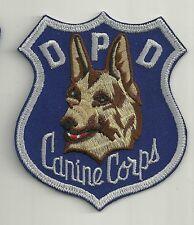 K-9  DHF  COLORADO  DENVER Police Patch Hauptstadt Polizei Abzeichen Hundeführer