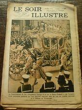 Le Soir Illustré - Couronnement du Roi d'Angleterre George VI et Elizabeth -1937