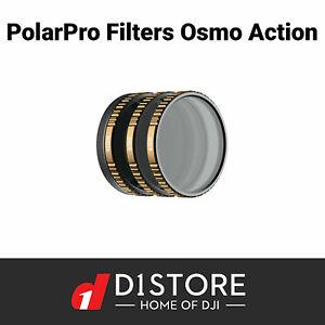 DJI PolarPro Vivid 3 Pack Filters Cinema Series for Osmo Action Australian Stock