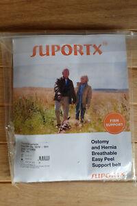 Suportx - Ostomy & Hernia Easy Peel Belt - 15cm - Skin colour XS