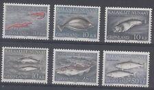 Greenland Scott 136-41 Mint Nh (Catalog Value $49.00)