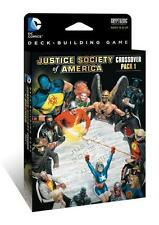 DC Comics Deck Building Game - Justice Society of America - Crossover Pack #1 -