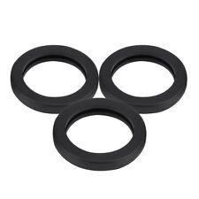3Pcs Fuel Gas Can Spout Gasket Jerry Can Cap Gasket Set Replacement Black Ideals
