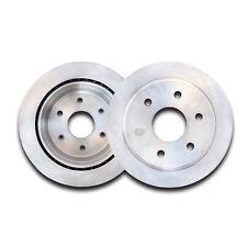 Set of 2 Front Cast Iron Brake Disc Rotors For Silverado Sierra Tahoe Yukon