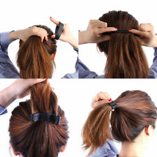 Zopfgummi Haargummi Haarband Pferdeschwanz Halter Faltbar Zopfband Haarschutz