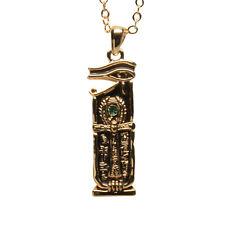 Egyptian Egypt Horus Eye Ankh Cross Key of Life Necklace Pendant Jewelry J393