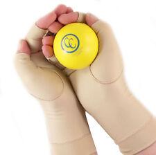 Arthritis Compression Gloves with Bonus Flexion Ball for Hand Pain Fibromyalgia