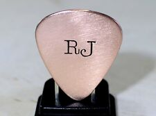 Copper Guitar Pick Personalized with your Initials