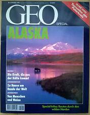 Geo Spezial - Alaska - Oktober 1995 - fast wie neu - kleiner Knick rechts oben!