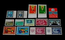U.N.1962, New York #100-113 Year Set Issues, Singles, Mnh, Nice! Lqqk!