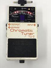 Boss Chromatic Tuner TU-2 - Tested