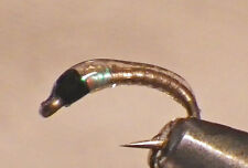 New listing Improved Epoxy Bling Midge #18 Clear Fly Fishing Flies Trout Tail Water Sp