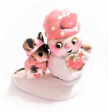 "2003-WEE FOREST FOLK ""COOL FRIENDS"" M-287 PINK - WITH WFF BOX - MINT CONDITION !"