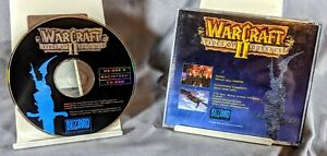 Warcraft 2 II Two Tides of Darkness 1995 Blizzard Game - CD-ROM PC MAC Tested