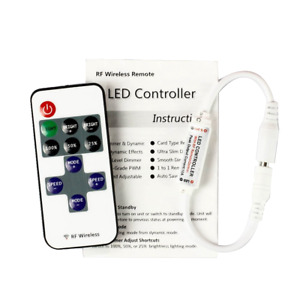 12V RF Wireless Remote Control Dimmer Switch for Single Color LED Strip Light