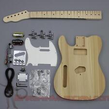 Bargain Musician - GK-002L - LEFT Hand DIY Unfinished Project Luthier Guitar Kit