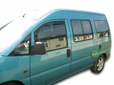 FIAT SCUDO 3-Door 1996-2007 Set di Deflettori vento anteriore 2pc HEKO colorata