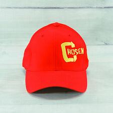Chosen Men's Red Flexfit Fitted Baseball Cap Size L / XL
