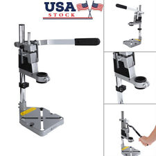 Bench Clamp Drill Press Stand w/ Side Clamp Tool for 38/43mm Drilling Collet US