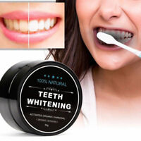 100% NATURAL ORGANIC COCONUT ACTIVATED CHARCOAL  TEETH WHITENING  POWDER
