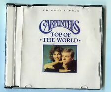 The Carpenters cd-maxi TOP OF THE WORLD © 1991 # 390 664-2 - German-3-Track-CD