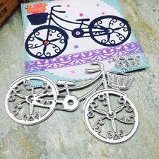Bicycle Embossing Cutting Dies Stencils Scrapbook Album Paper Card Craft