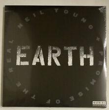 Neil Young Earth 3-LP RU Affiche gatefold