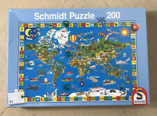 Schmidt Puzzle 'What a Colourful Earth' 200 Pieces Jigsaw Puzzle New & Sealed 8+